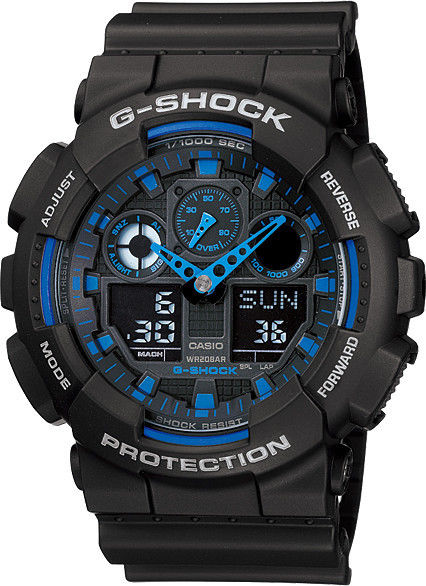 G-Shock Men's Quartz Watch GA-100-1A2ER