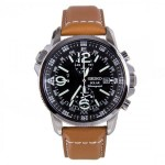 Detailed Seiko SSC081 Review Leather Strap Watch
