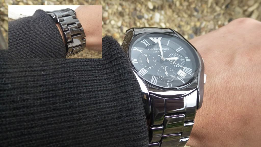 AR1400 Armani watch reviewed
