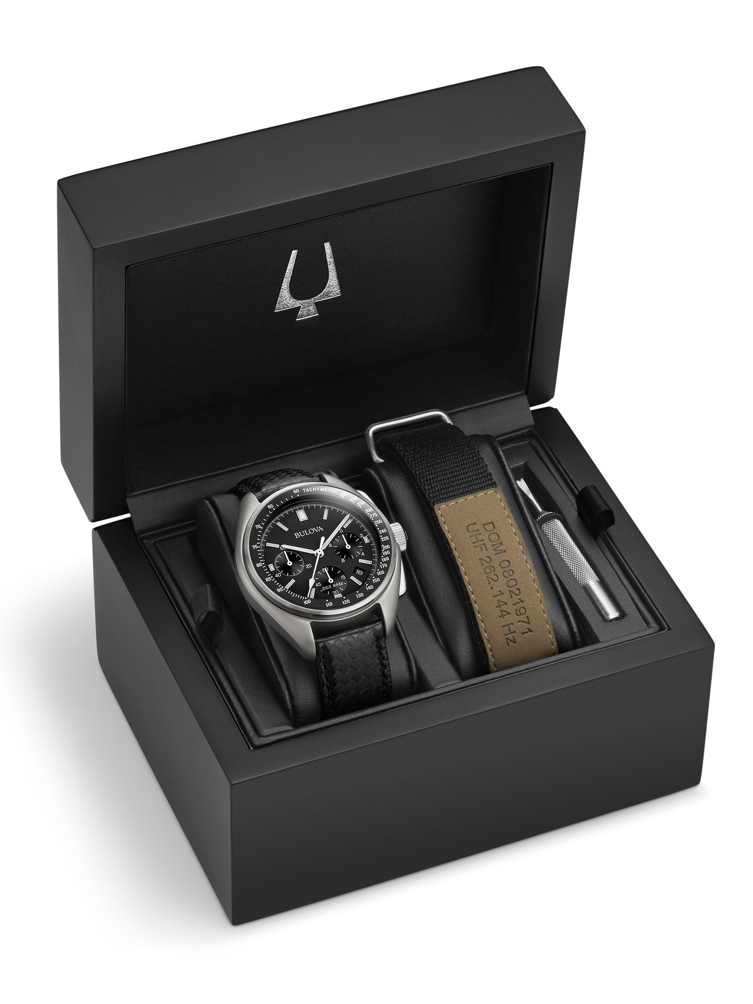 The Bulova 96B251 packaging