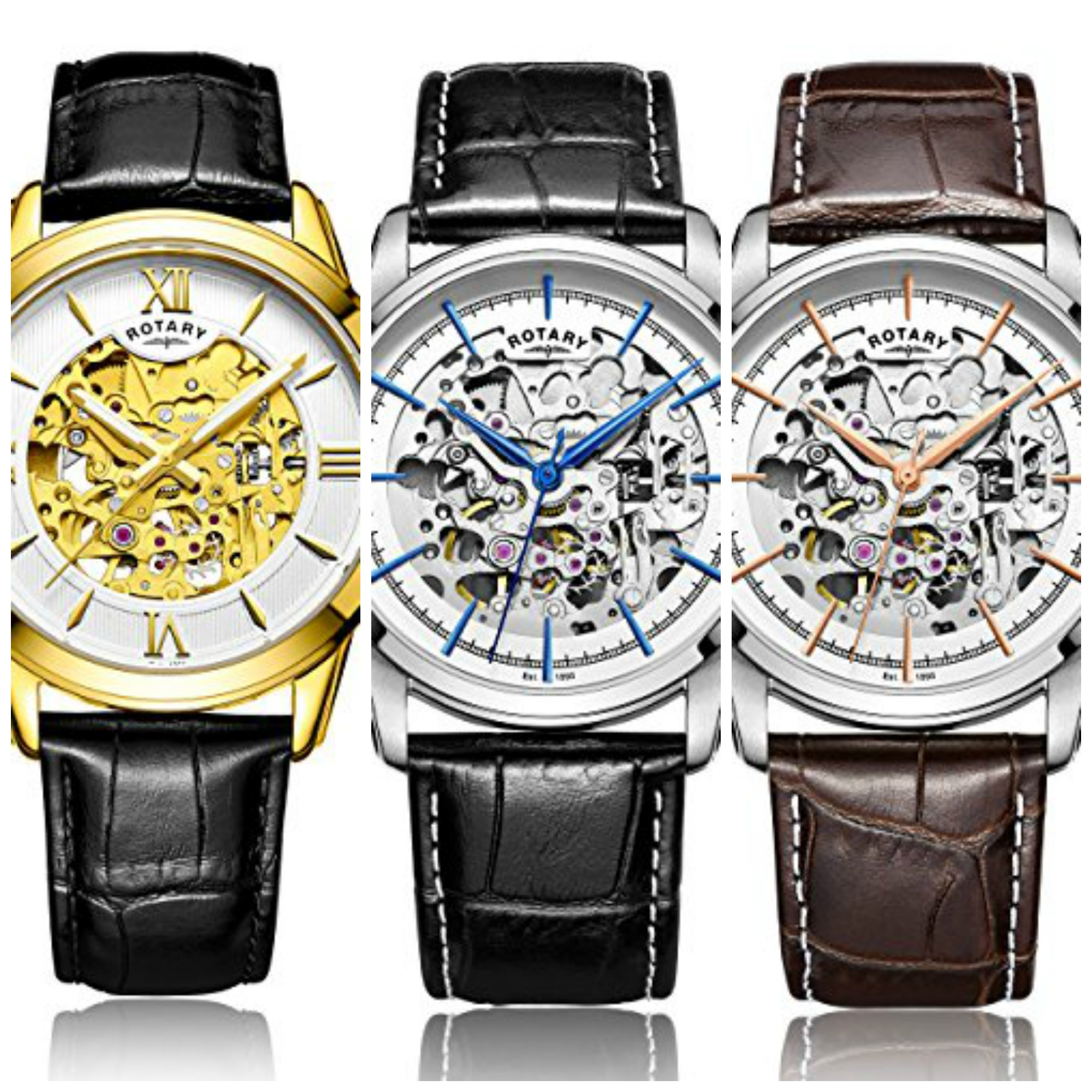 10 best rotary skeleton watches