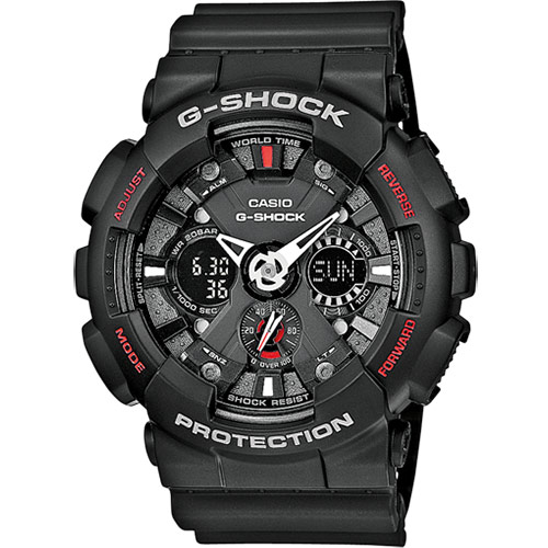 G-Shock GA-120-1AER review
