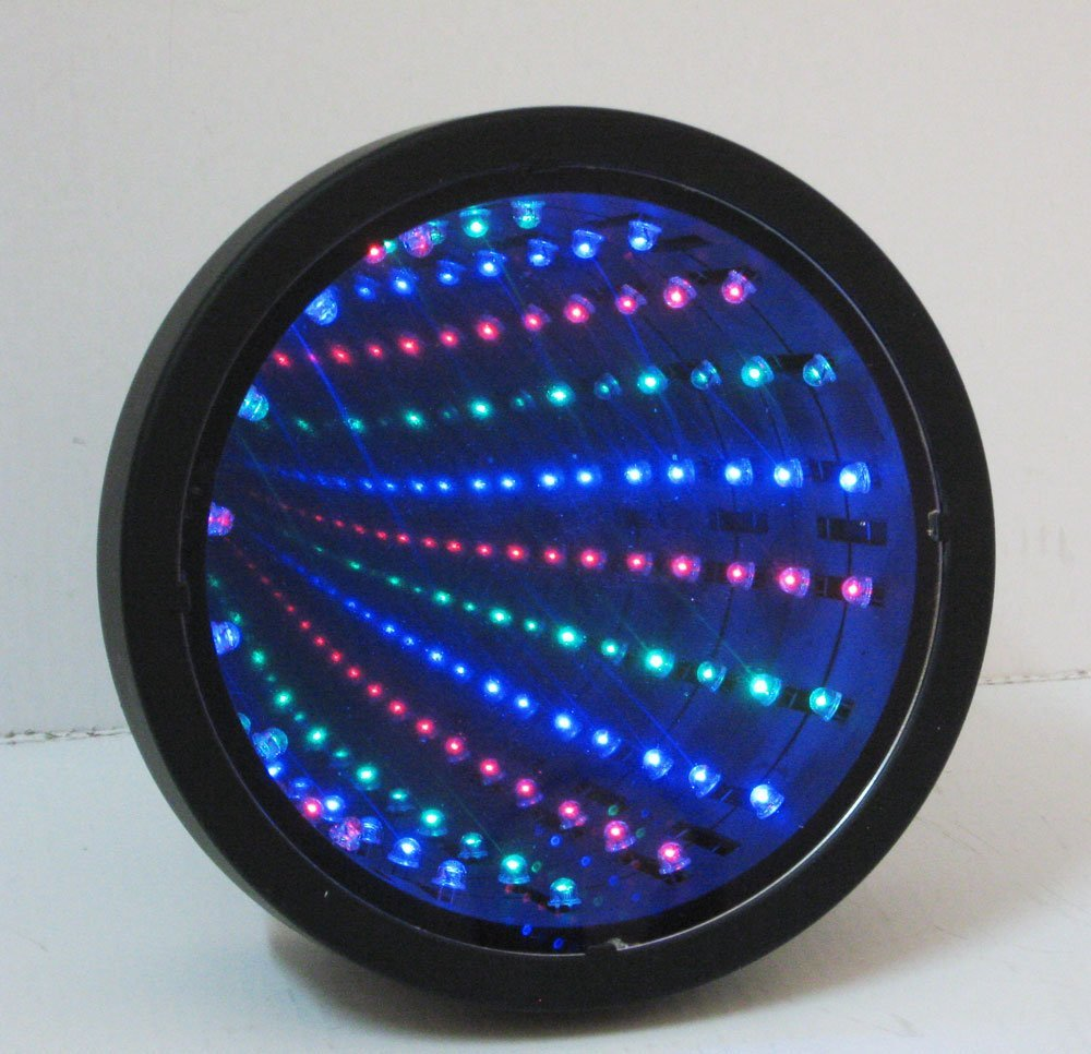 Infinity Mirror Tunnel Lamp
