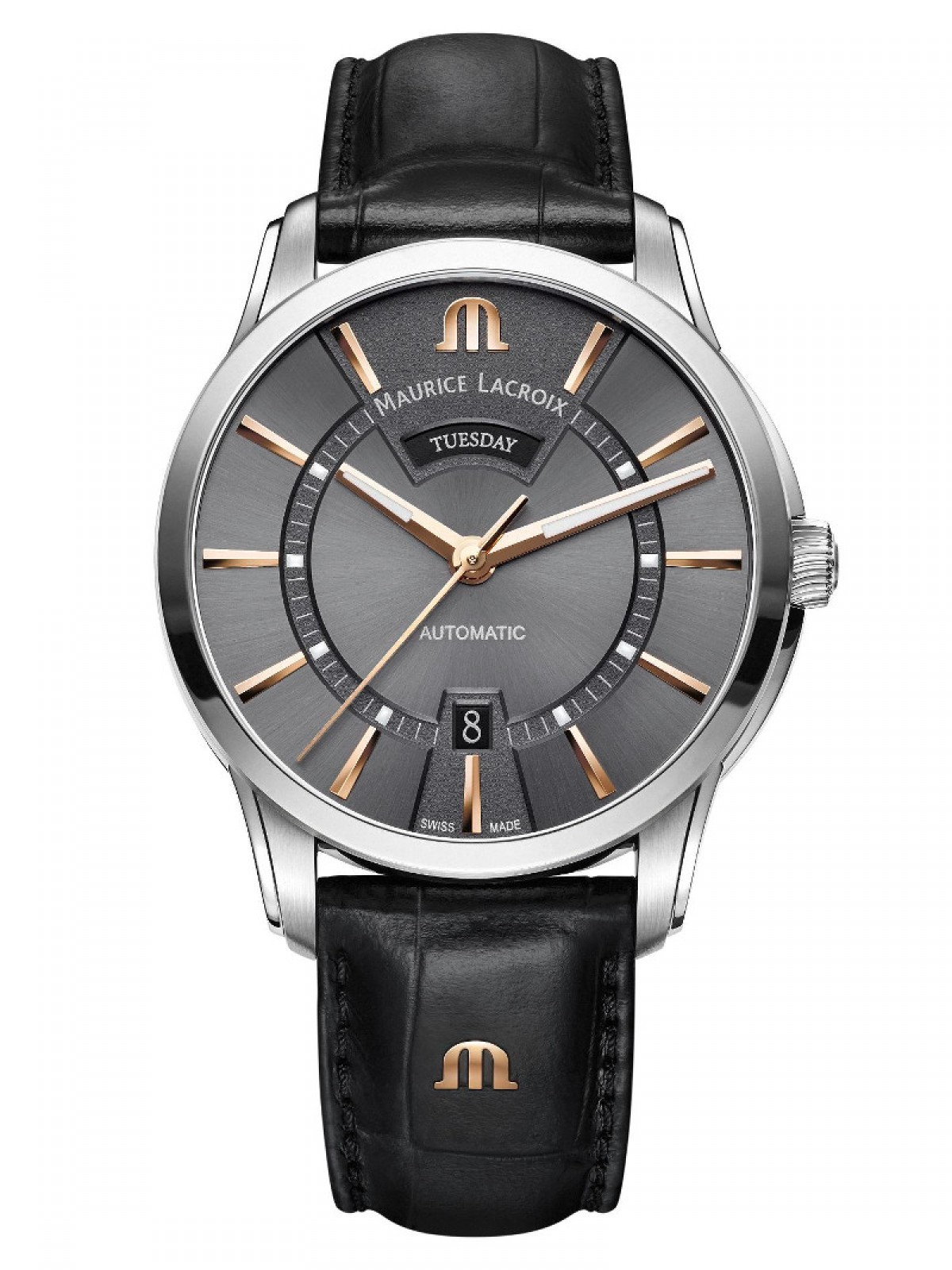Maurice Lacroix PT6358-SS001-331-1 Day Date watches