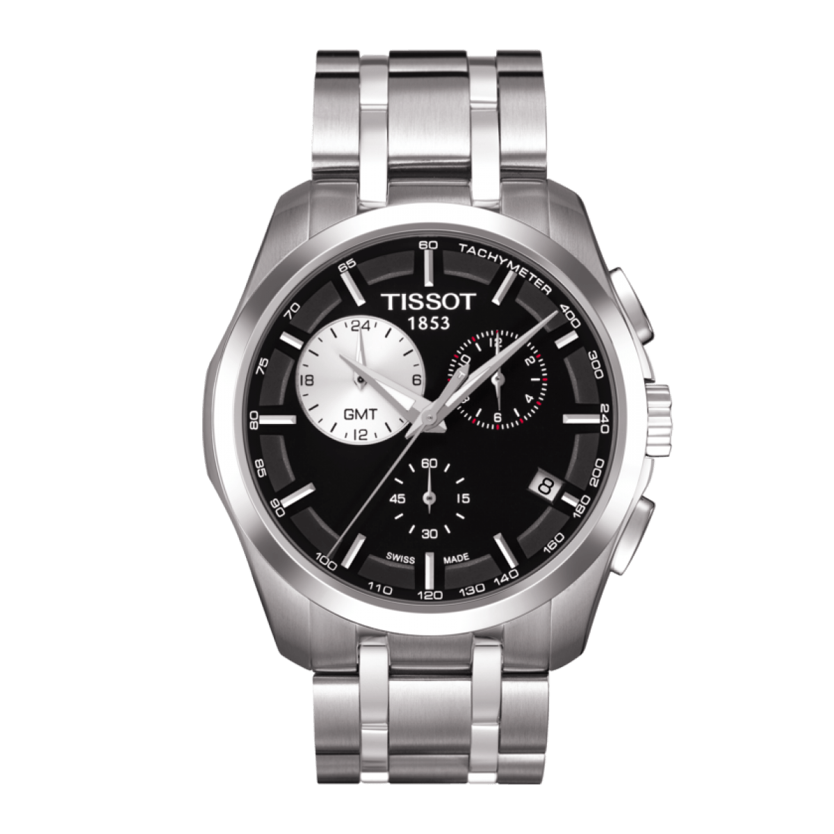 Tissot Couturier GMT Chronograph Watch