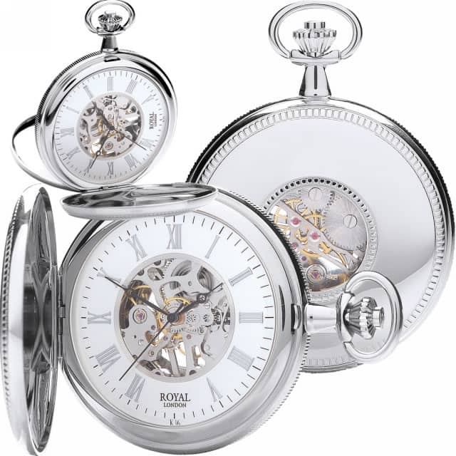 90029-01 Modern Pocket Watches Royal London