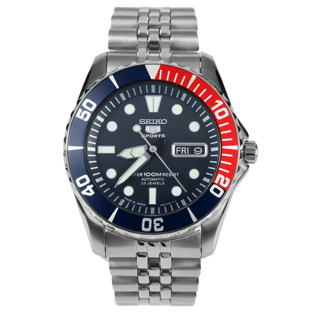 Seiko SNZF15 diver's watch