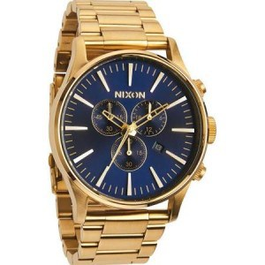 Nixon Sentry gold watch A386-1922