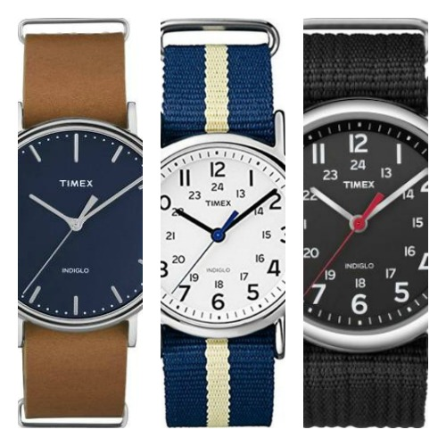best timex weekender watches