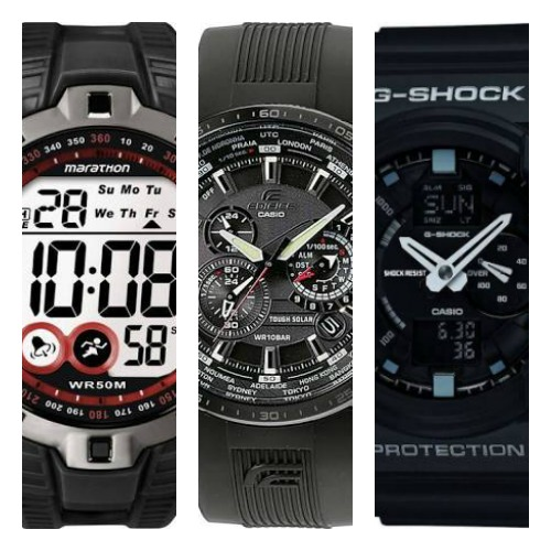 black sports watches for men
