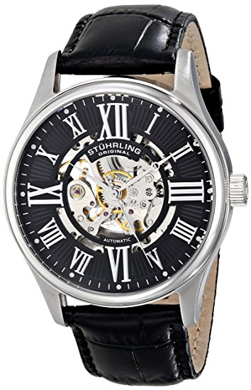 stuhrling skeleton watches 747.02