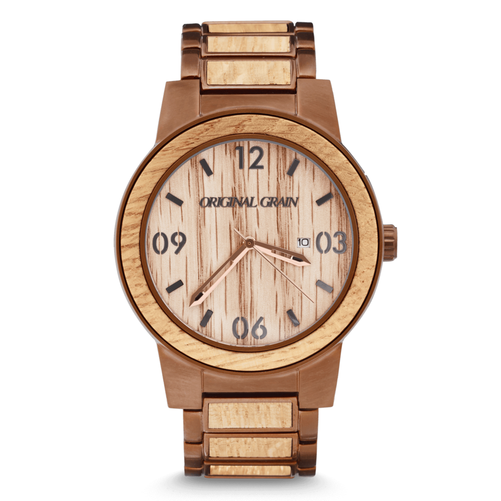 Original Grain The Barrel Whiskey Espresso Watch