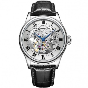 Rotary automatic skeleton watch