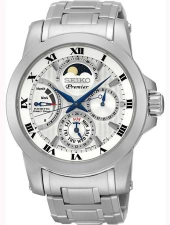 Seiko moonphase watches SRX011P1