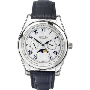 Sekonda moon phase watch 3504