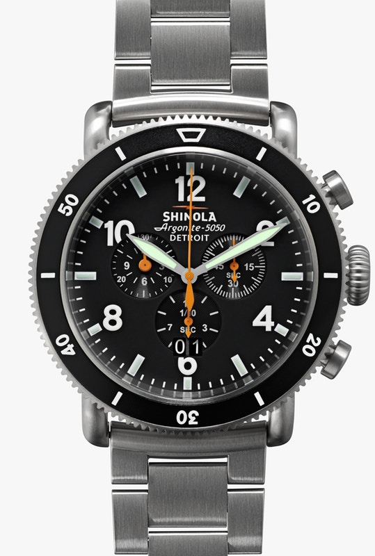 Shinola Black Blizzard
