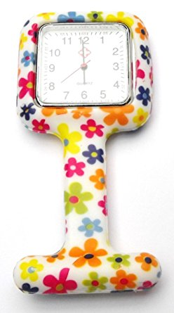 funky fob watches QBD Sq Fob Daisy