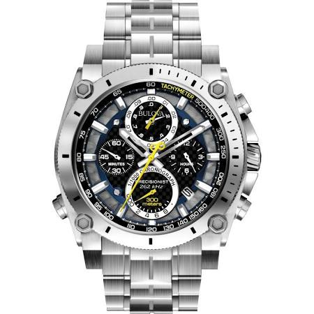 Bulova Precisionist chronograph watch 96G175