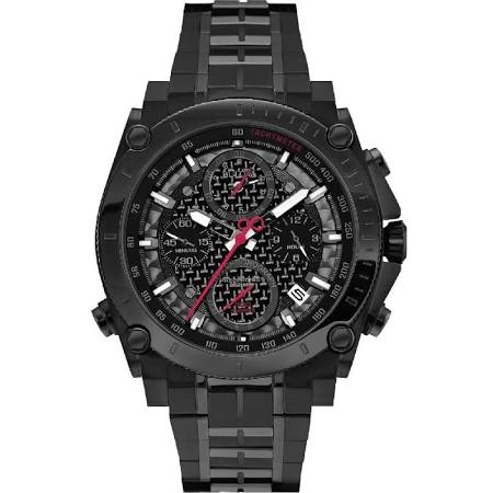 Bulova precisionist chronograph watch 98G257