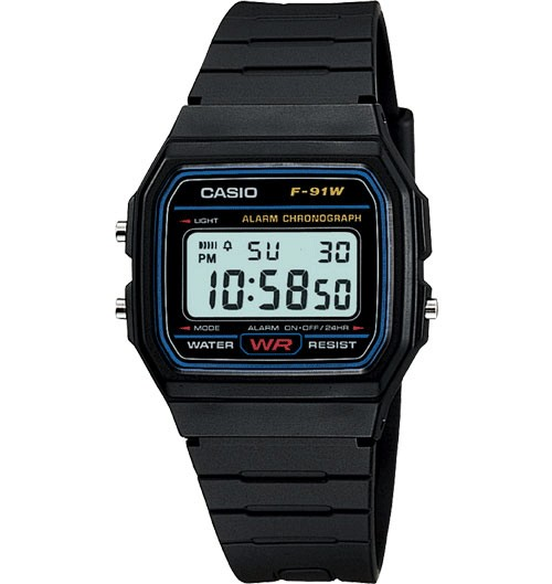 Casio f-91 digital watch