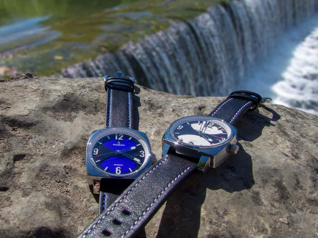watches waterfall
