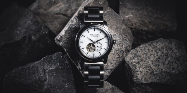 Holzkern Marble Watch