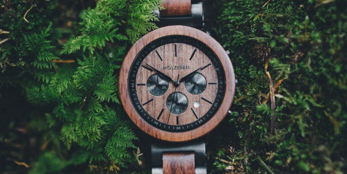 Holzkern Chronograph Watch