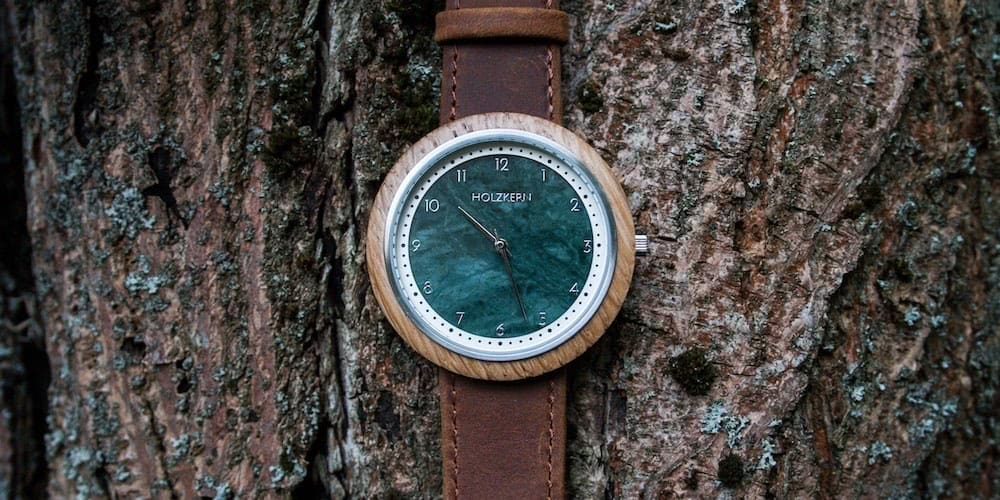 Marble Holzkern Watch
