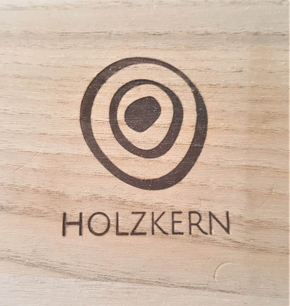 Holzkern Logo on packaging