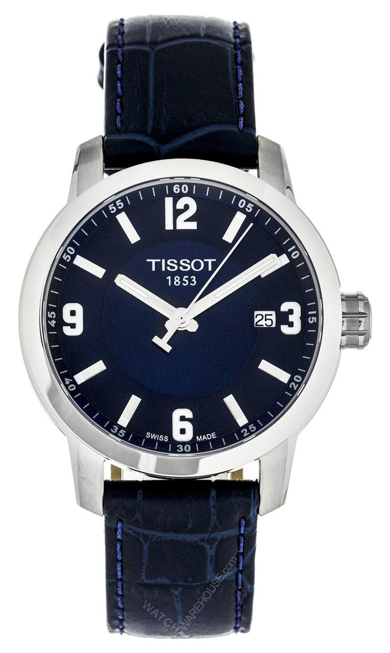 Tissot deep blue T0554101604700 watch