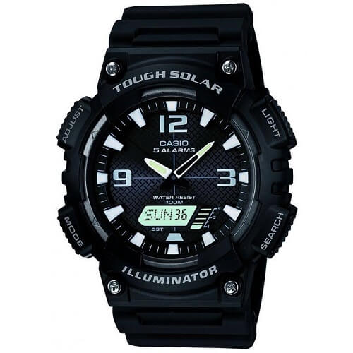 Casio Tough Solar AQ-S810W-1AVEF watches for young adults