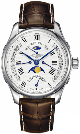 Longines sun and moon phase watch L2.739.4.71.3