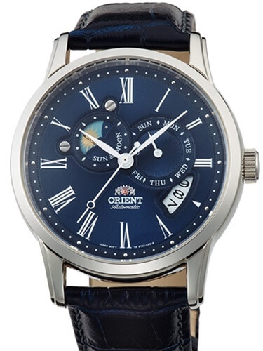 Orient sun and moon phase watch ET0T004D