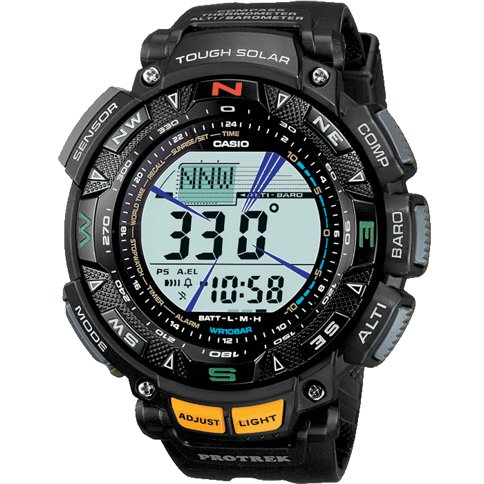 Pro Trek Casio Digital Watch PRG-240-1ER
