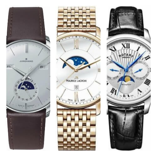 16 Best Affordable Moon Phase Watches The Watch Blog