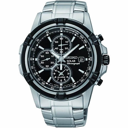 Seiko Solar Chronograph Watch SSC147P1