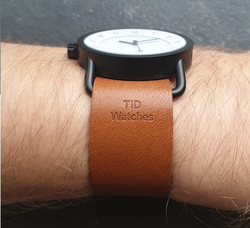 TID Watches Embossed on strap
