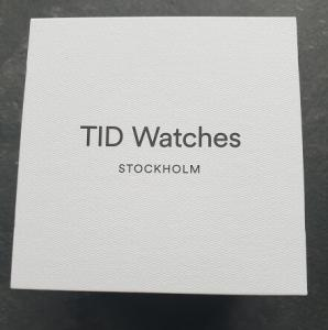 TID Watches Packaging White Box with logo