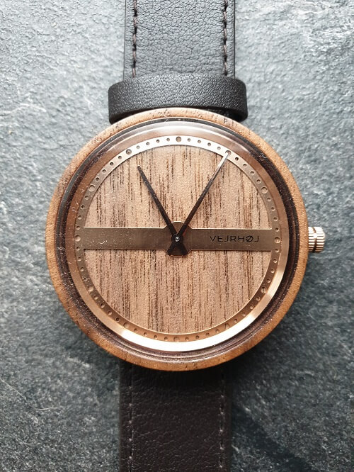 VEJRHØJ watches review the nautic wooden watch