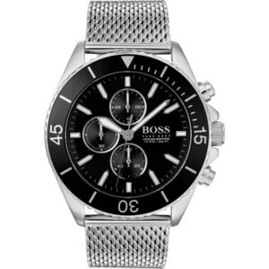 hugo boss 1513701 review, front profile of watch