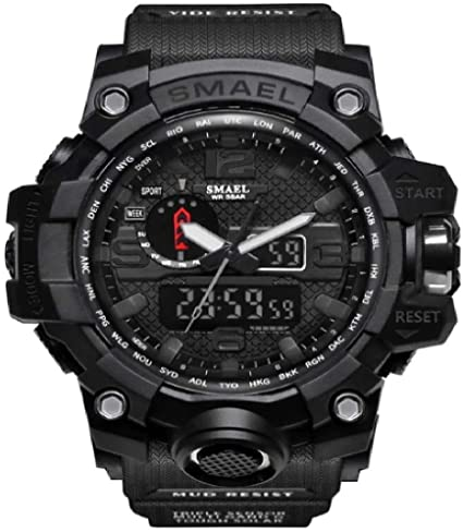 smael mens military watches